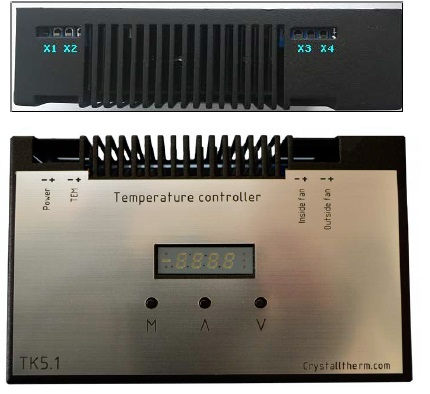 Controller for thermoelectric assembly